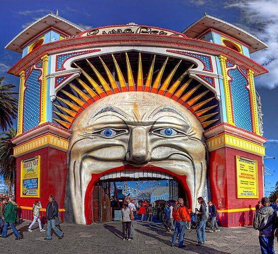 Luna Park • Melbourne • Australia by William Bullimore