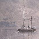 Sailing boat 2 by julie anne  grattan
