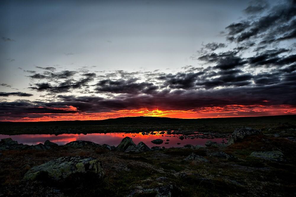 Sunset In Hardanger by geirkristiansen