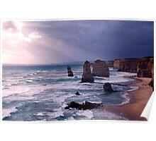 The Apostles,Great Ocean Road,Victoria,Australia Poster