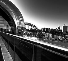 The Sage & Tyne Bridge, Gateshead/Newcastle UK by Phil-Edwards