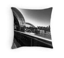 The Sage & Tyne Bridge, Gateshead/Newcastle UK Throw Pillow