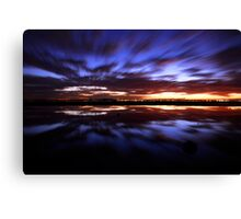 A Rush and a Push Canvas Print