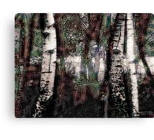 Zauberwald - Die Wächter / Magic Forest - The Guardians Canvas Print