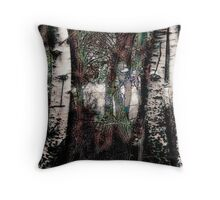 Zauberwald - Die Wächter / Magic Forest - The Guardians Throw Pillow
