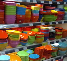"""bowled"" over by the colors by Liusha T"