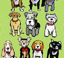 Cutout DOGS by DAdeSimone