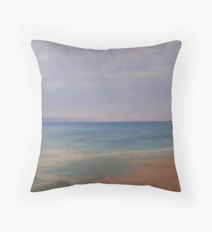Sea Scape Throw Pillow