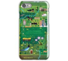Colorado Map iPhone Case/Skin