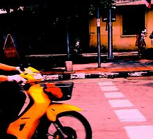 """""""The Speed of Yellow"""", Bangkok, Thailand by Jennii Booth"""