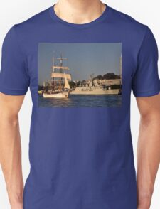 Fleet Review Ships - Old And New, Australia 2013 T-Shirt