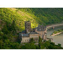 Burg Katz am Rhein Photographic Print
