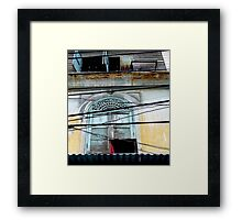 """Decayed Dimensions"", Bangkok, Thailand Framed Print"