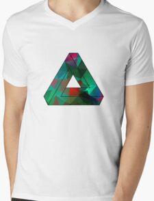 Green Penrose Triangle Polygon Art T-Shirt