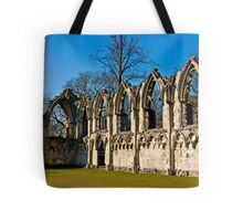 Ruins of St Mary's Abbey  -  York #4 Tote Bag