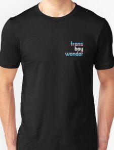 Trans Boy Wonder T-Shirt Unisex T-Shirt
