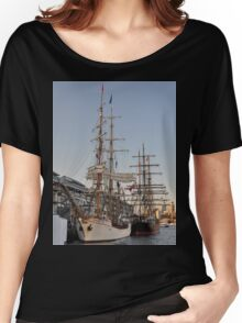 Tall Ships @ Darling Harbour, Sydney, Australia 2013. Women's Relaxed Fit T-Shirt