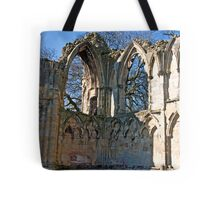 Ruins of St Mary's Abbey  -  York #5 Tote Bag