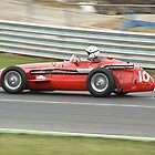 Pre 1961 Grand Prix Cars by Willie Jackson