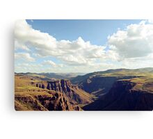 Maletsunyane River Canvas Print