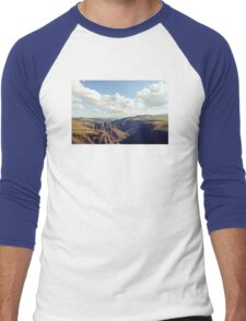 Maletsunyane River Men's Baseball ¾ T-Shirt