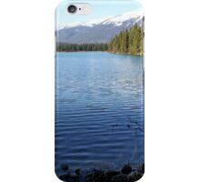 At One with Nature : Lac Beauvert, Jasper, Canada iPhone Case/Skin