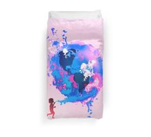 Bubble Earth Duvet Cover