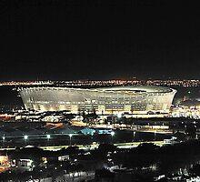 Greenpoint Stadium at Night by noelmiller