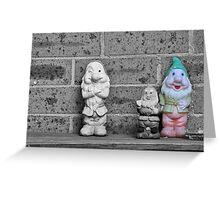 The Smoking Gnome Greeting Card