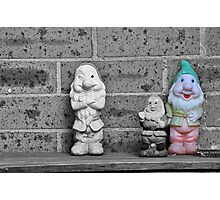 The Smoking Gnome Photographic Print