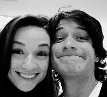 Crystal Reed and Tyler Posey  by alimaric