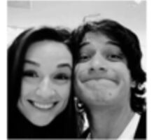 Crystal Reed and Tyler Posey  Sticker
