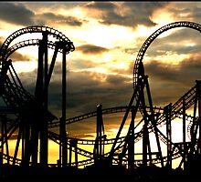 Life Is A Rollercoaster by Paul  McIntyre