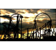 Life Is A Rollercoaster Photographic Print