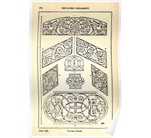 A Handbook Of Ornament With Three Hundred Plates Franz Sales Meyer 1896 0290 Enclosed Ornament Various Panel Poster