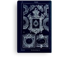 A Handbook Of Ornament With Three Hundred Plates Franz Sales Meyer 1896 0482 Frames Mirror Inverted Canvas Print