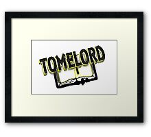 TomeLord Framed Print
