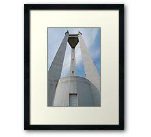 Quezon Memorial Circle monument 6 Framed Print