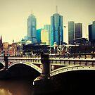 Princes Bridge by Angie Muccillo