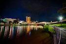 Adelaide Riverbank at Night VI by Ray Warren