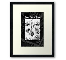 The Fightin' Bees Framed Print