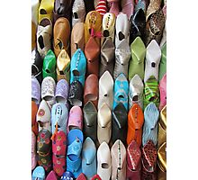 Moroccan Footwear Photographic Print