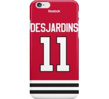 Chicago Blackhawks Andrew Desjardins Jersey Back Phone Case iPhone Case/Skin