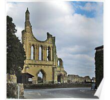 Byland Abbey Poster