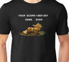 Bayou Billy - Game Over - NES Unisex T-Shirt