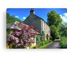 Cottage at New Lanark Canvas Print