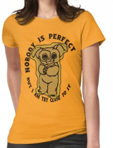 Mr.Perfect Womens Fitted T-Shirt
