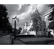 Bath House Row Storm Photographic Print