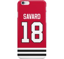 Chicago Blackhawks Denis Savard Jersey Back Phone Case iPhone Case/Skin