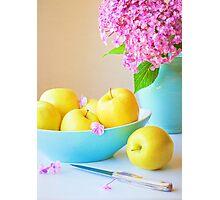Yellow Apples Photographic Print